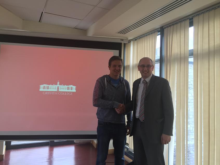 Представитель EnglishPapa и Kevin Geogheagen ( Director of International Office)