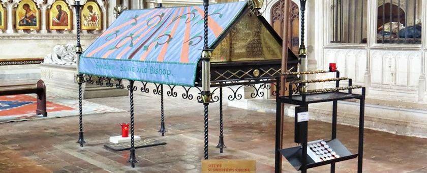 Гробница святого Свитуна